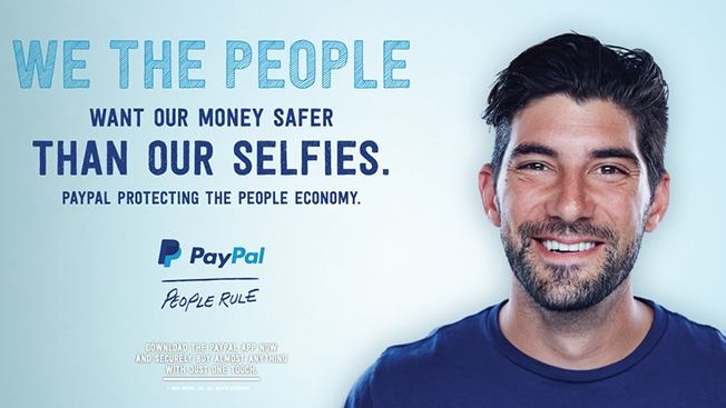 PayPal's jab at Apple's Pay services wasn't that subtle.