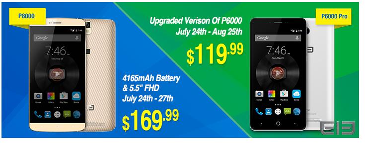 Elephone P6000 And Elephone P8000