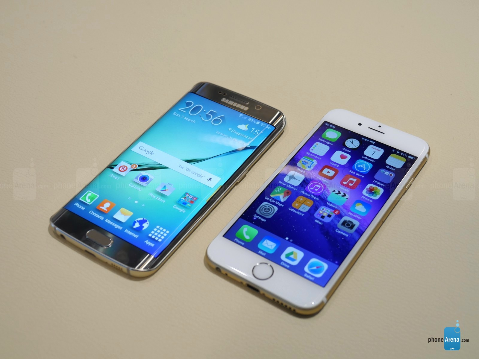 iphone 6 vs samsung galaxy s6