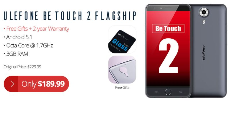 Ulefone-Be-Touch-2-sale