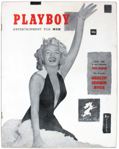 1st issue of Playboy- 1953