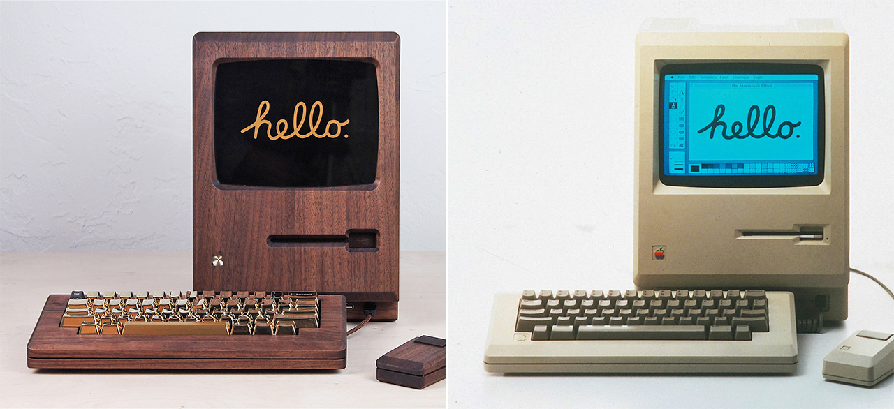 Apple Macintosh old and new