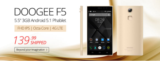Doogee-F5-4G-offer-Everbuying