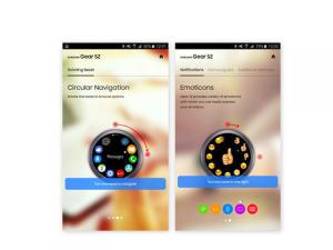 Gear S2 Experience App 2