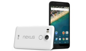 LG nexus 5x front - back