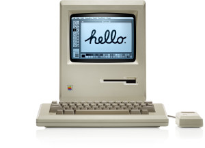 The original 1984 Apple Macintosh