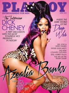 April 2015 issue of Playboy