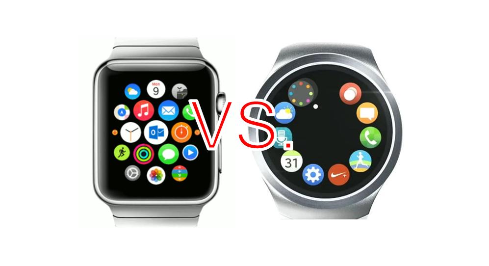 Apple-Watch-vs-Samsung-Gear-2