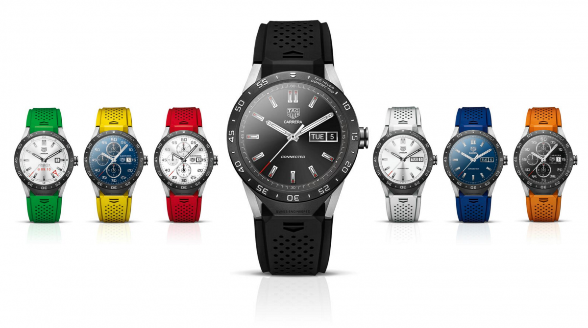 Tag Heuer colors