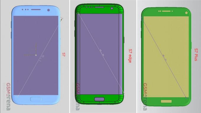 Leaked Galaxy S7 Schematics/ GSM Arena