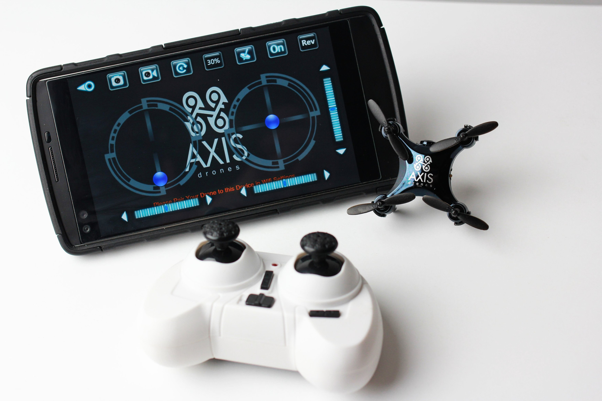 ar drone 2 controller with Axis Vidius Is The Worlds Smallest Camera Drone on Ancient Glass Medallion Ship Image Byzantine 400 600 Ad likewise Axis Vidius Is The Worlds Smallest Camera Drone together with Uav Electronics together with Spracing F3 Evo Fc Setup Tutorial additionally Parrot Ar Drone 2 0 Unveiled Video 09 01 2012.