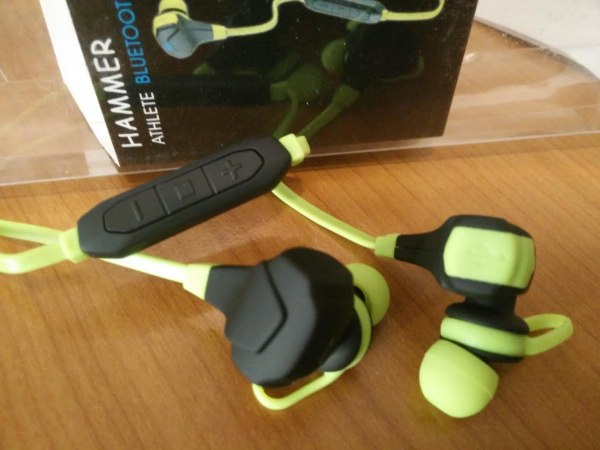 Hammer Athlete bluetooth headset macro