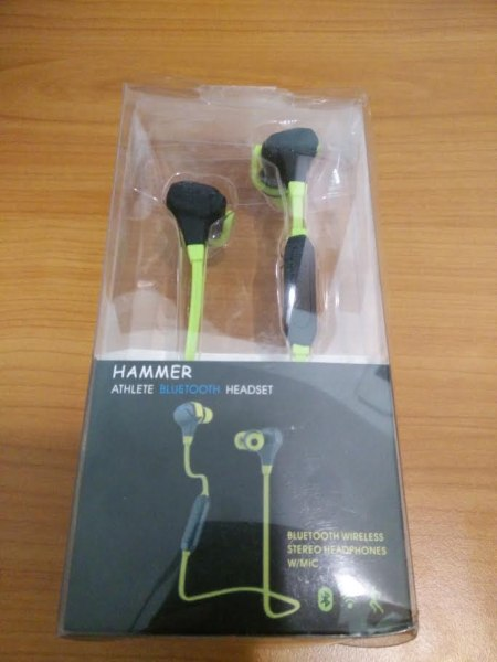 Hammer Athlete bluetooth headset review