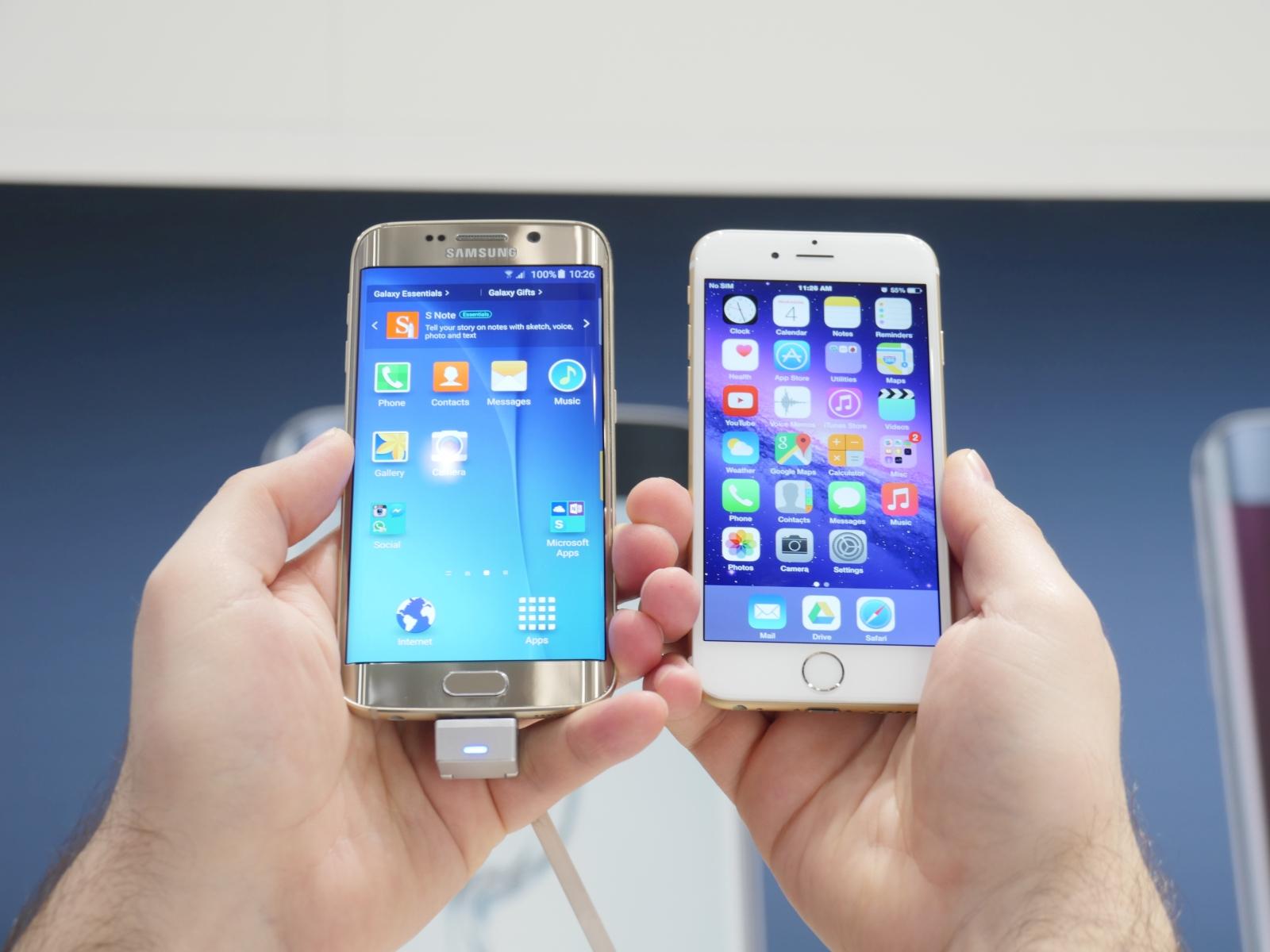 Iphone 8 Vs Samsung Galaxy S6