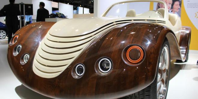 wooden car Julia