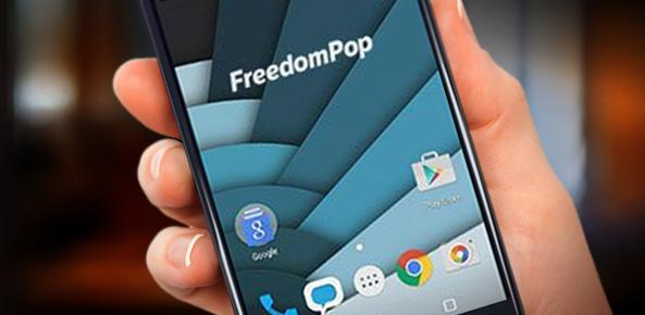 FreedomPop smartphone