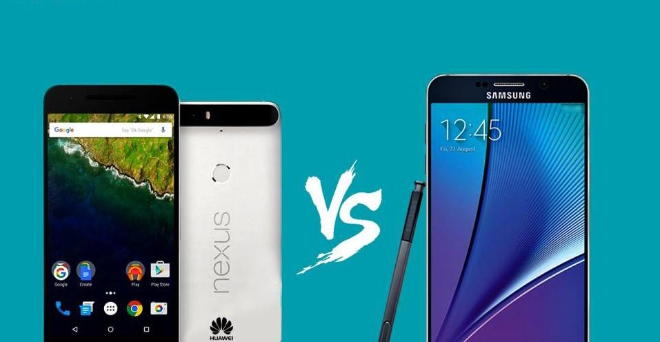 Nexus 6p vs Note 5