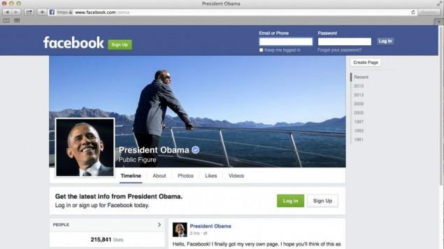 Barack Obama Facebook cover