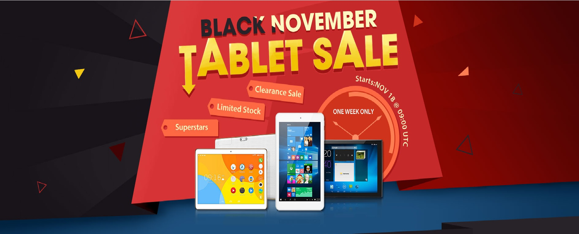 Black November Tablet Sale